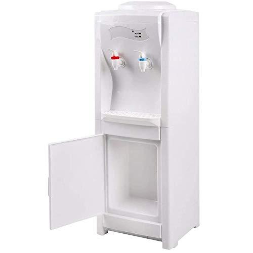 ZHIRCEKE Dispensador de Agua eléctrica Vertical Universal Home Office Frío Hot Water Machine Máquina de Bebida ABS Botella eléctrica EE. UU. Enchufe