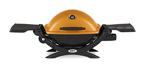 Weber, Orange 51190001 Q1200 Liquid Propane Grill
