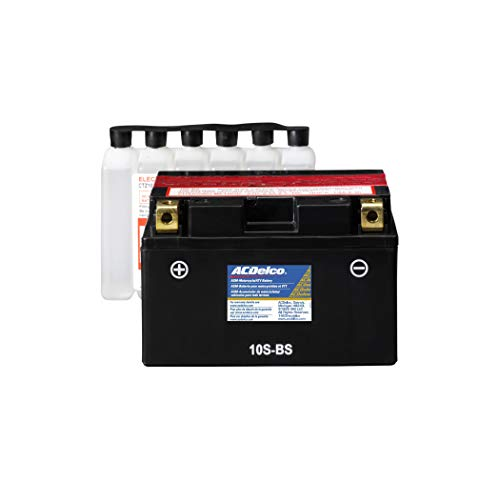 ACDelco Gold ATZ10SBS 12 Month Warranty Powersports AGM JIS 10S-BS Battery