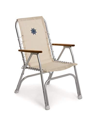 FORMA MARINE High Back Deck Chair