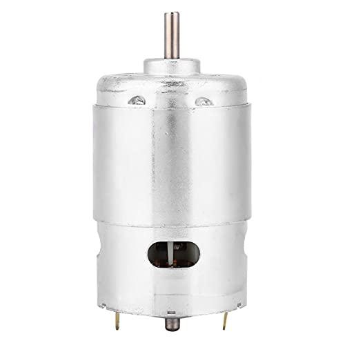 895 Micro Motor DC, 12V 6000 RPM, Doble rodamiento de Bolas, Alta Velocidad, bajo Ruido, micromotor de Alta Potencia para Piezas de Controlador eléctrico DIY