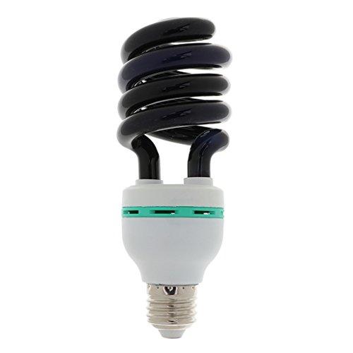 Homyl E27 5W / 7W / 9W / 15W / 20W / 36W / 40W Blacklight Sprial Lámpara Bombilla - 40W