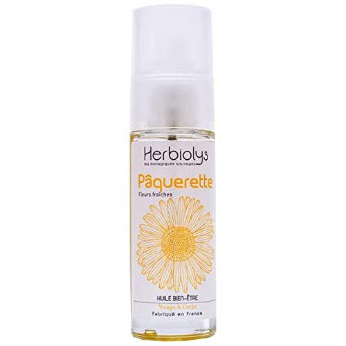 HERBIOLYS - Huile bien-être Pâquerette Bio - 30 ml