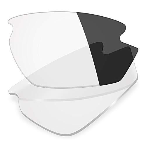 Mryok Ersatzgläser für Rudy Project Rydon, Grau (Non-polarized - Eclipse Grey Photochromic), Einheitsgröße