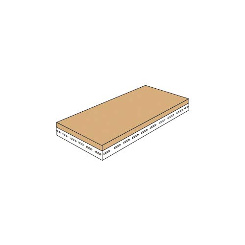 スチールラックのキタジマ 追加板 アングル棚用 幅45×奥行30cm 取付金具付 ホワイト