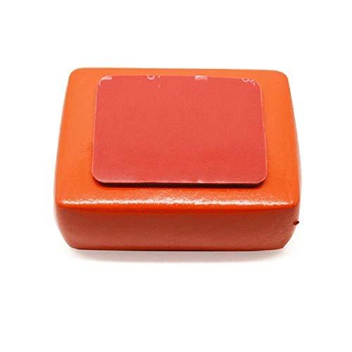 Caja flotante flotante con esponja adhesiva antideslizante con adhesivo para Gopro Hero 7/6/5/4/3/3 + / 2/1 para accesorios de cámara de acción SJCAM Montaje de cámara
