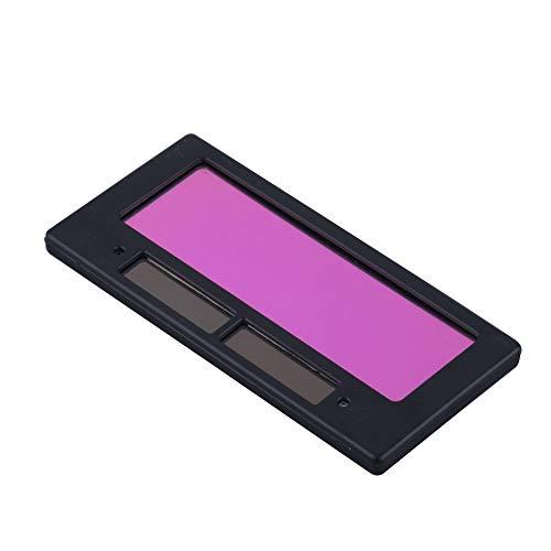 Casco de soldadura, Casco solar de oscurecimiento automático de la soldadura/tapa del soldador/lente de soldadura/máscara de ojo Filtro/Lente for la máquina de soldadura,gafas protectoras