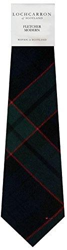 I Luv Ltd Gents Neck Tie Fletcher Modern Tartan Lightweight Scottish Clan Tie
