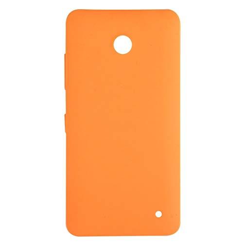 LIUXING Coperchio Posteriore della Batteria for Nokia Lumia 630 (Nero) Quarta di Copertina (Colore : Arancia)
