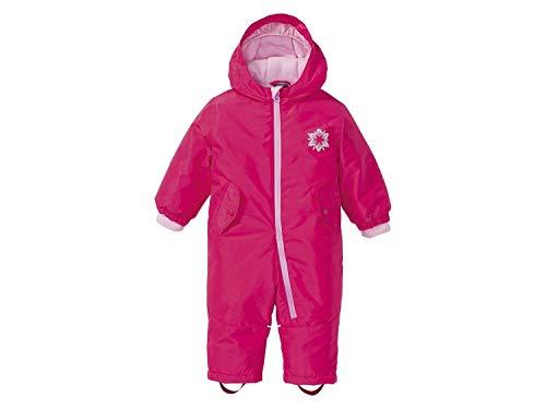 Lupilu Baby Mädchen Winteroverall Warm mit Kapuze Pink 86