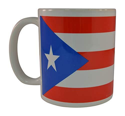 N\A Bandera de Puerto Rico Taza de café Taza de la Novedad Gran Idea de Regalo para Hombres Mujeres Puerto Rico