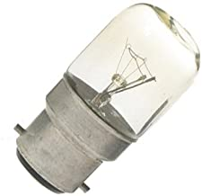 Eveready 15W Pygmy Light Bulbs, Bayonet Cap B22 BC B22d 240v, Clear Sewing Machine/Appliance Lamps/Night Light/General Pur...