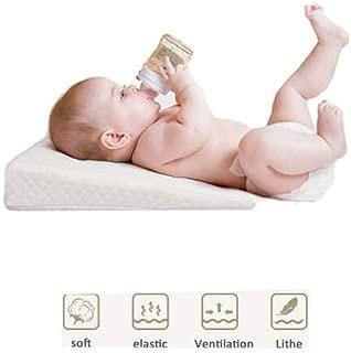 Baby Keilkissen St/ützkissen Universal Memory Resilience Baumwolle wasserdichte Schicht Anti Reflux Kissen mit atmungsaktivem Memory-Schaum 10/° Steigung f/ür Kinderbett//Stubenwagen//Schlaf