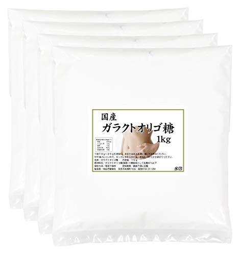 自然健康社 ガラクトオリゴ糖 1kg×2個 250g×8袋 密封袋入り