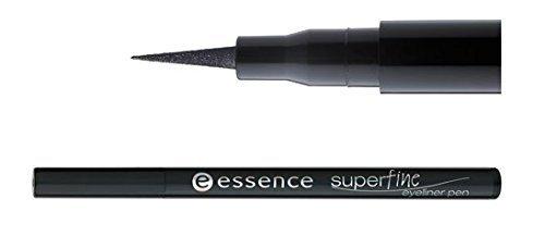 Essence Super Fine Eyeliner Long-lasting Pen Liquid Waterproof - Black by Essence