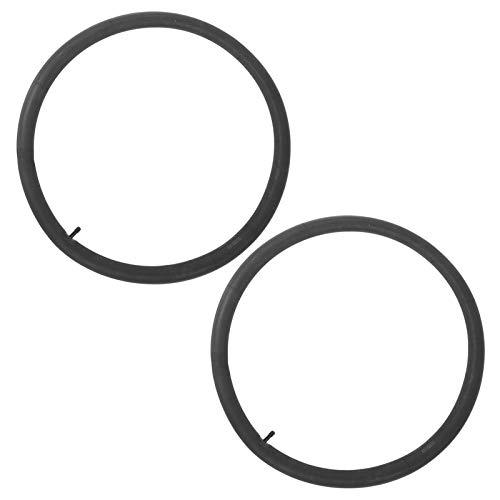 Tubo de Bicicleta, Rueda pequeña Caucho butílico Válvula Schrader Resistente al Desgaste Tubo de Bicicleta, para Accesorios de Ciclismo Bicicletas Plegables(26 * 1.95/2.125)