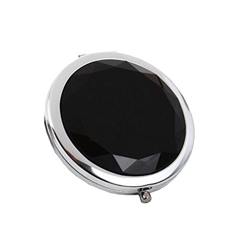 Maquillage Folding Portable Cosmetic Voyage Pocket Mirror Compact, Nior