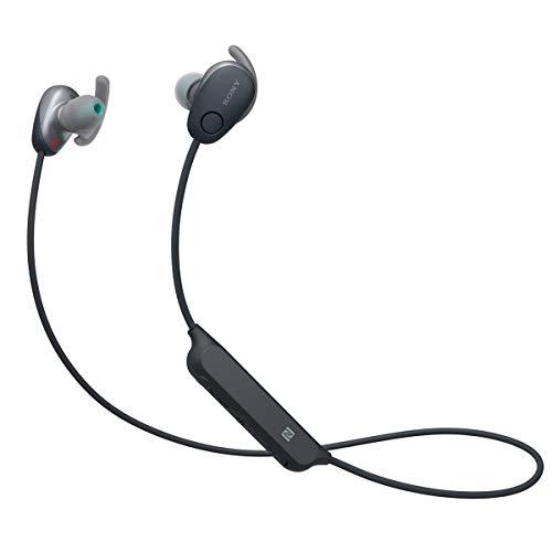 Sony WI-SP600N/B Wireless Noise Canceling Headphones | SP600N (Renewed)