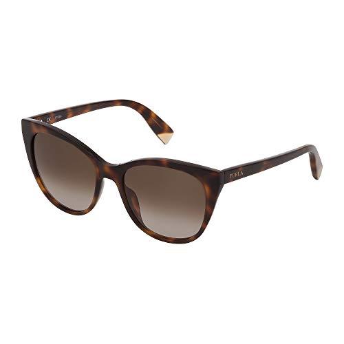 Fula SFU335 01AY 54-18-135 - Gafas de sol para mujer, color habana oscuro brillante, lentes de color marrón