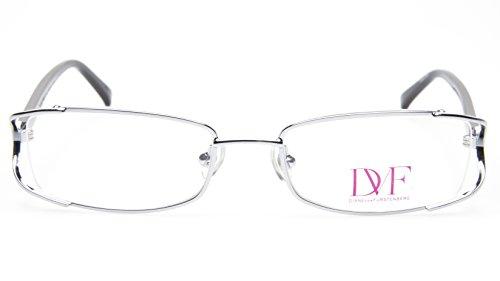 NEW Diane von Furstenberg DVF 8002 049 CHROME MESH EYEGLASSES 50-18-130 B28mm