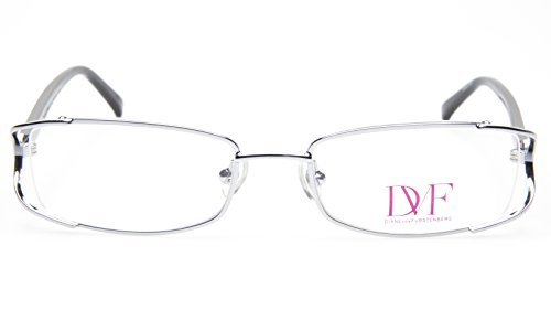 NEW Diane von Furstenberg DVF 8002 049 CHROME MESH EYEGLASSES 50-18-130 B28mm