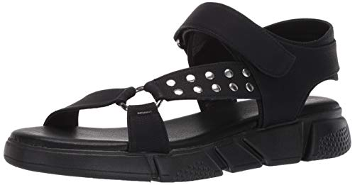 Dirty Laundry by Chinese Laundry Women's Flat Sport Sandal, Black, 5