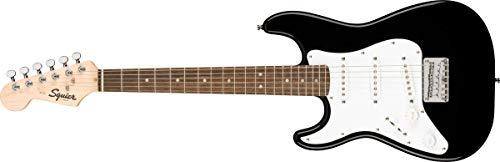 Fender 6 String Solid-Body Electric Guitar, Left, Black (0370123506)