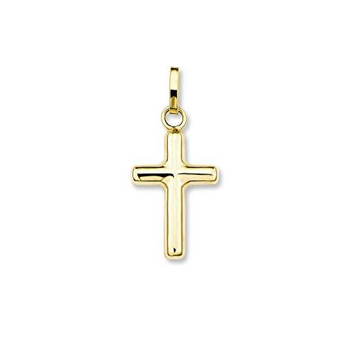 amor Anhänger Unisex aus Gold 375/9 ct Kreuz