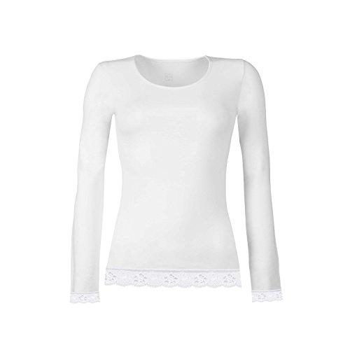 Cotonella GD1250000 Camiseta, Black, 38 para Mujer