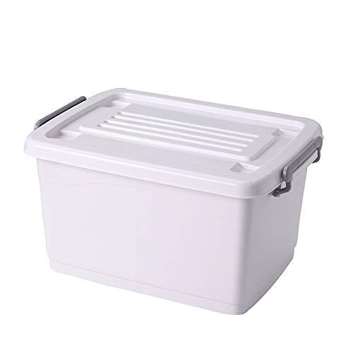 Caja de almacenamiento de plástico.