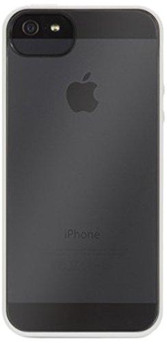 Griffin Back Case - Cover per Apple iPhone 5/5S, Bianco/Trasparente