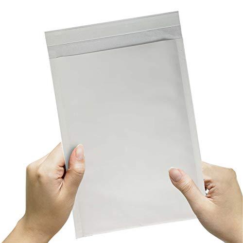 (50枚入り)クッション封筒 (#0) DVDトールケース1枚サイズ 小物、アクセサリー類(内寸: 約25.4×17cm 外寸: 約25.4x19cm)クロネコDM便/ネコポス/ゆうパケット/クリックポスト/ポスパケット対応クッション付き封筒/緩衝袋緩衝材