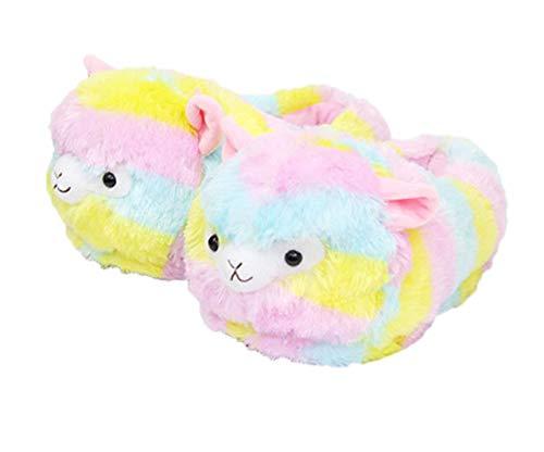 LANFIRE Tier Hausschuhe Hamster Hausschuhe Winter Hause warme rutschfeste Baumwolle Hausschuhe (Sheep (Shoes))