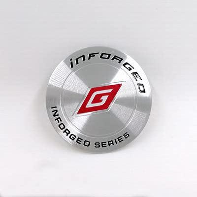 45 mm, pegatinas para ruedas de coche Decoraciones adecuadas para la modificación de TRABAJO SSR HRE OZ VOLK Etiqueta de rueda ADVNA Etiqueta de rueda Etiqueta de cubierta de rueda Etiqueta de coche