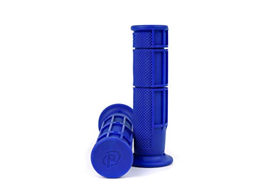 Grepen set Domino half wafel quad, ATV duimgas 22/22mm - blauw