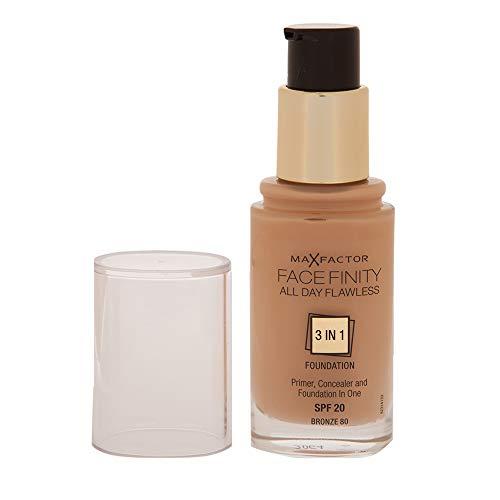 Max Factor, Base de maquillaje (080 Bronze), 30 ml
