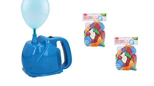 Elektrische ballonnenpomp 300W - Inclusief 100 ballonnen 23cm