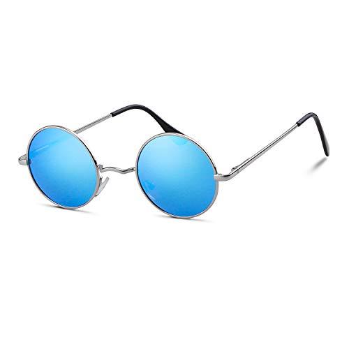 John Lennon Gafas redondas polarizadas gafas de sol hippie para mujeres hombres