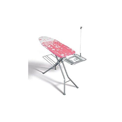 Metaltex 41806380080Electra Plus Tabla de Planchar Metal Rosa 122x 43cm