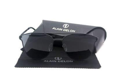 Linshenyoulu Internationaal merk bril Alain Delon mode merk groot frame gepolariseerde zonnebril