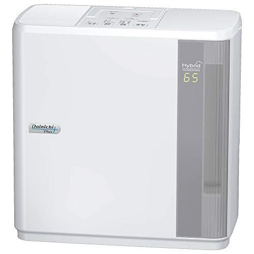 ダイニチ (Dainichi) 加湿器 ハイブリッド式(木造和室8.5畳まで/プレハブ洋室14畳まで) HDシリーズ ホワイト HD-5017-W