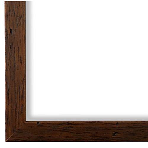 Online Galerie Bingold Bilderrahmen Braun 30 x 40 cm 30x40 - Modern, Vintage, Retro - Alle Größen - handgefertigt - WRF - Neapel 2,0