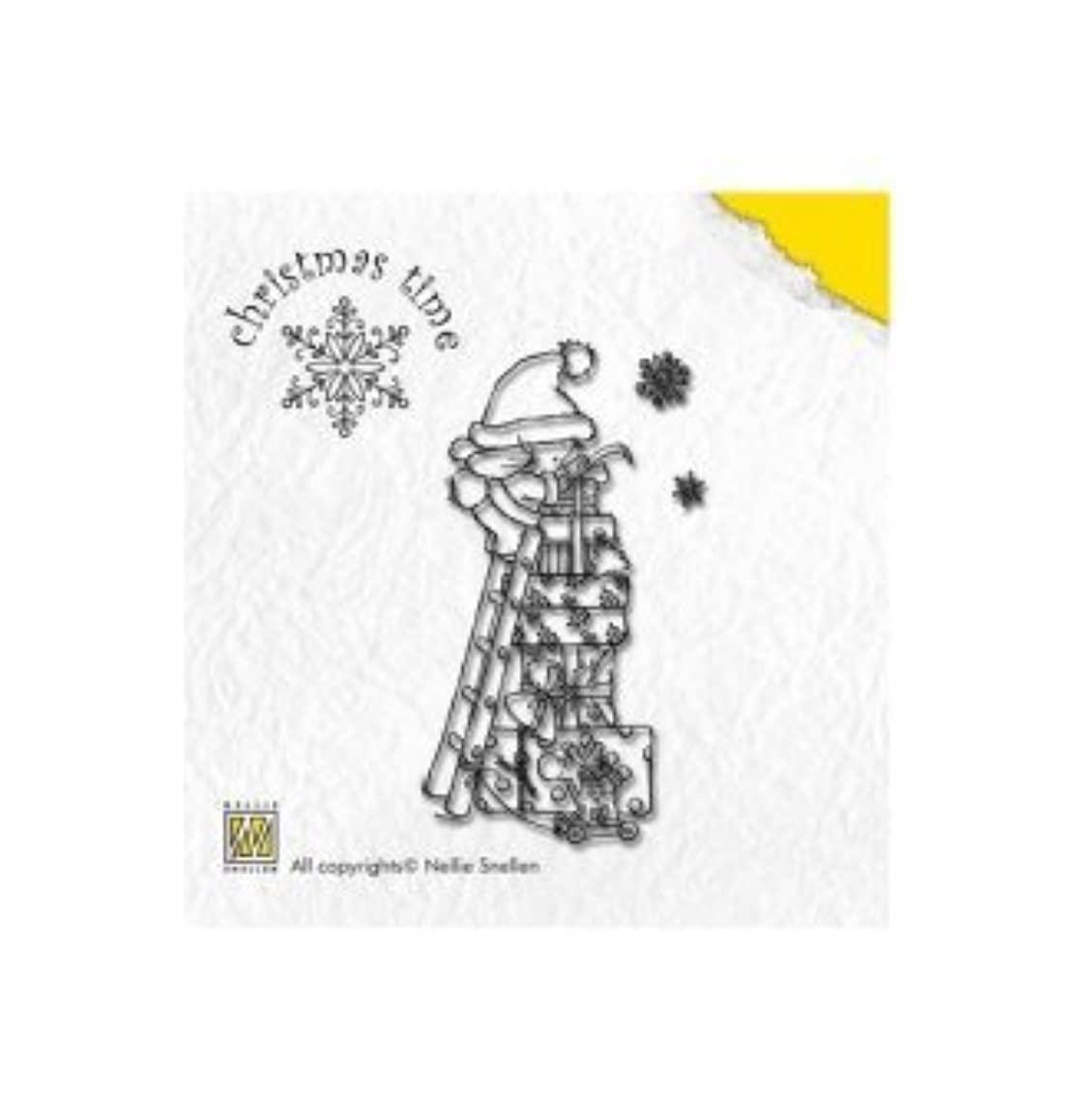 Nellie's Choice Clear Stamps, Christmas Time, Parcel Mountain