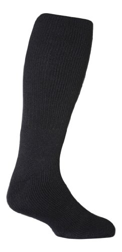 HEAT HOLDERS Mens Extra Long The Ultimate Thermal Sock Size 6-11 Navy