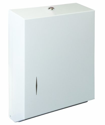 Bradley 250-150000 Stainless Steel Surface Mounted Towel Dispenser, 11' Width x 15-5/16' Height x 4' Depth