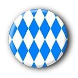 Bayern Fahne Bayernflagge Button (2,5cm)