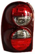 TYC 11-5886-91 Jeep Liberty Virginia Beach Mall Driver Light Side A Tail Replacement Selling rankings
