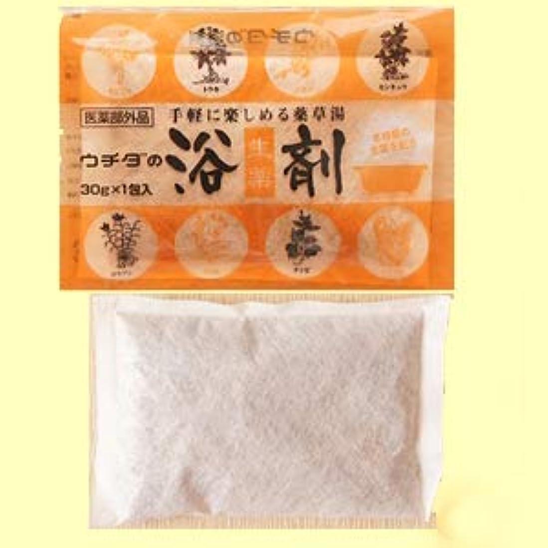 センチメンタル滴下鋼ウチダの浴剤 30g×3包