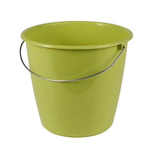 Preisvergleich Produktbild keeeper Eimer 5 l mit Metallbügel,  Polypropylen,  Grün