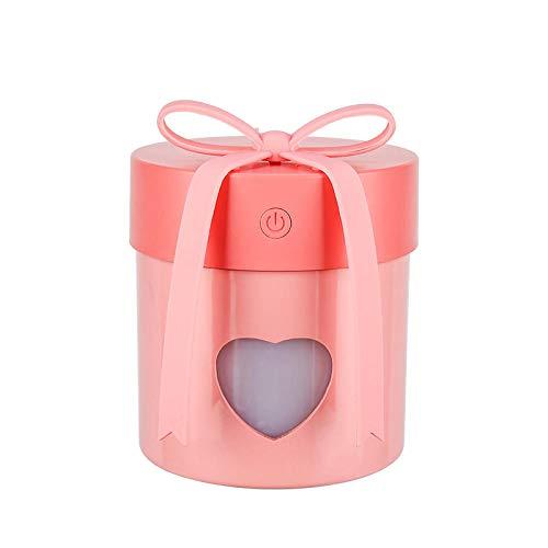 HDFIER luchtbevochtiger baby testwinnaar diffuser aromatherapie, aroma diffuser luchtbevochtiger ultrasone vernevelaar creatieve USB-geschenkdoos Mini Three-in-One